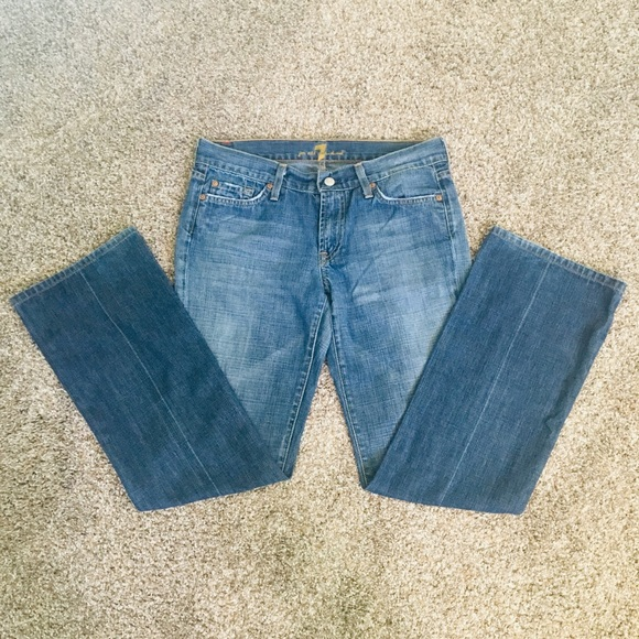 7 For All Mankind Denim - 7 for All Mankind Medium Wash Jeans GUC SZ 29